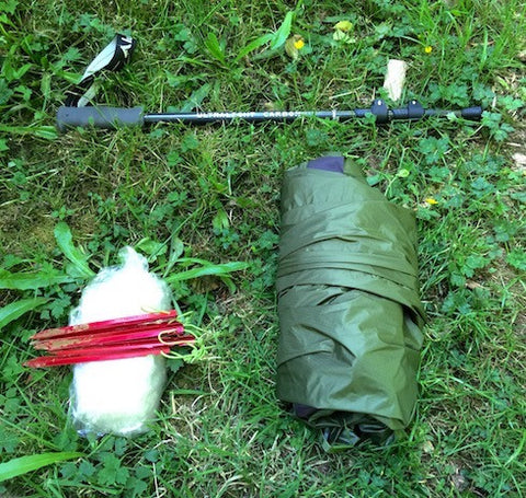 Floorless Trekking Pole Tent
