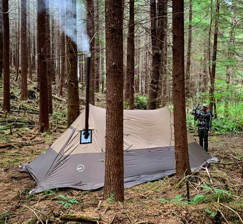 Twinpeak Hot Tent for Hunting