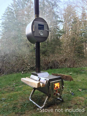 Tent Wood Stove Oven for Baking