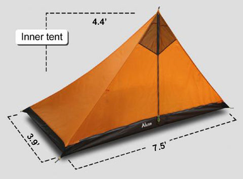 XL Pyramid Inner Tent with Winter Walls