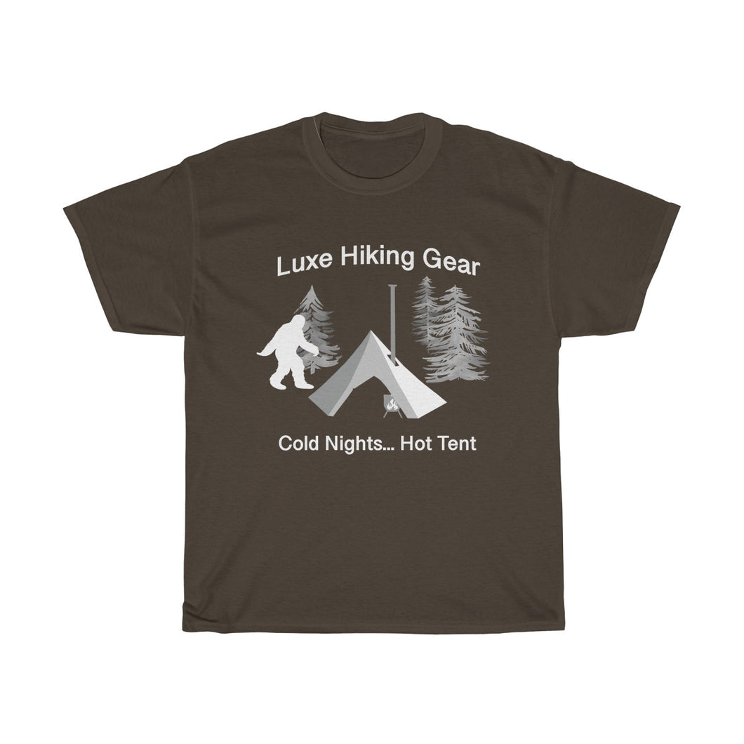 Squatch T-Shirt Hot Tipi Tent (Unisex) by Luxe Hiking Gear