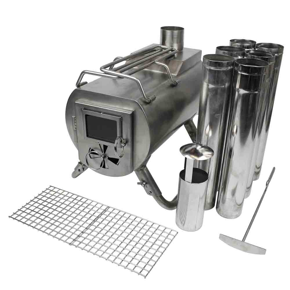 G-stove Portable Tent Wood Stove Kit