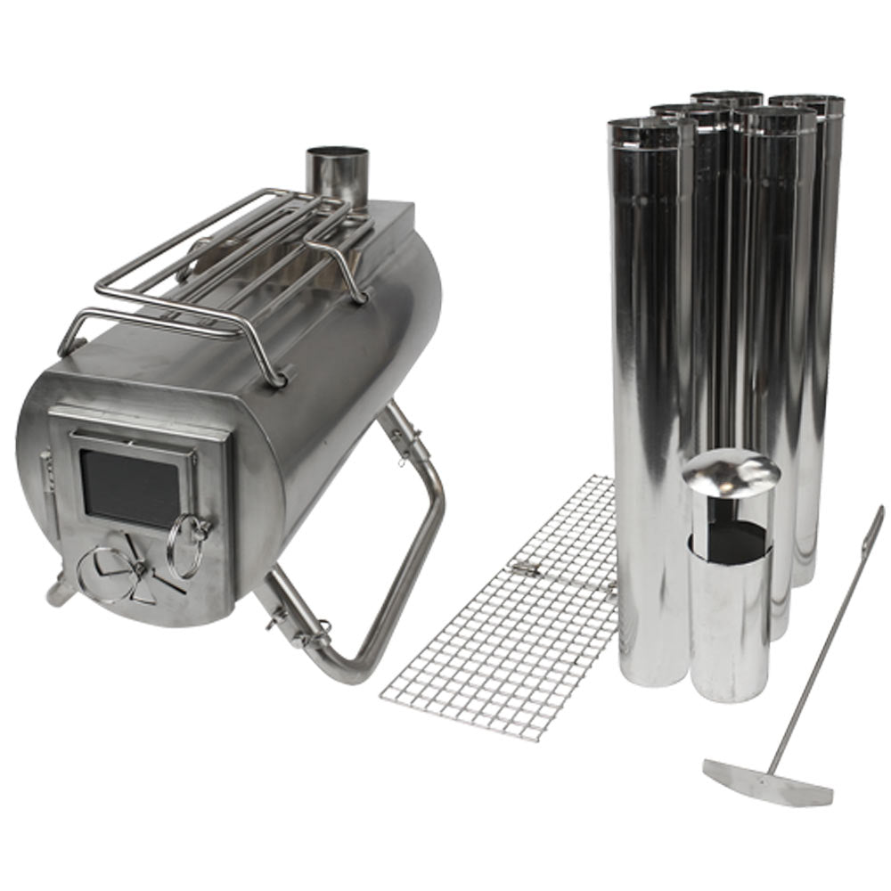 Gstove Portable Tent Wood Stoves Heating And Cooking For