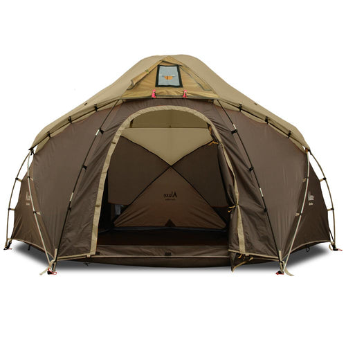 Hercules Wood Stove Tent for Winter  in Brown