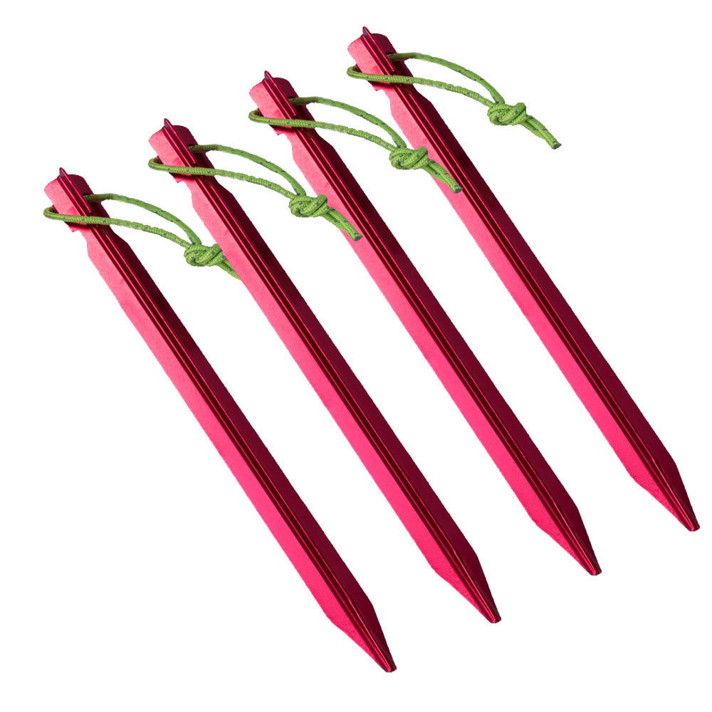 Luxe Y Tent Stakes Set  sc 1 st  Luxe Hiking Gear & Luxe Aluminum (4 Pack) Y Tent Stakes u2013 Luxe Hiking Gear