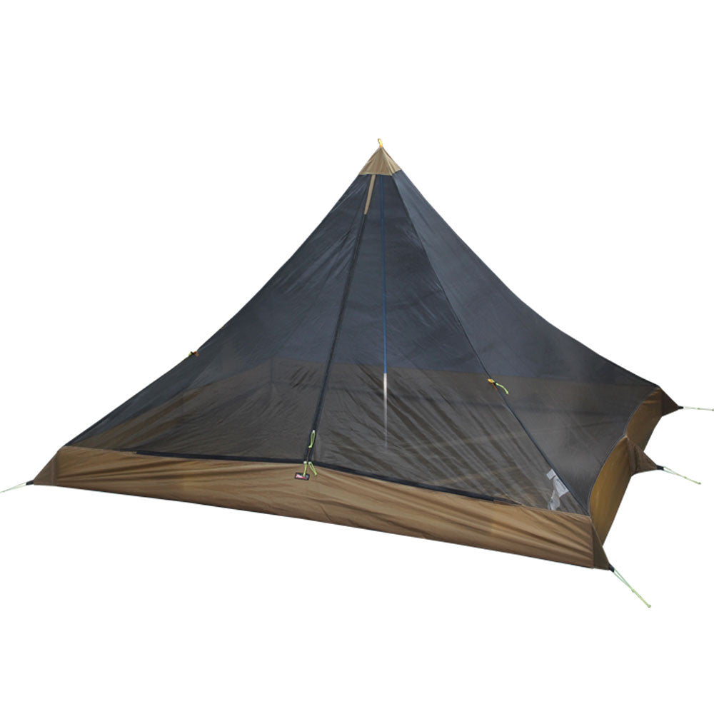 sc 1 st  Luxe Hiking Gear & Rect-mid 2-Person (Pyramid and Teepee) Inner Tent u2013 Luxe Hiking Gear