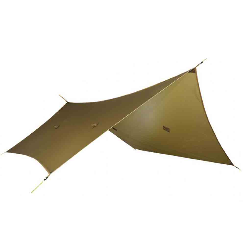 Polatouche Backpacking Tarp in Brown