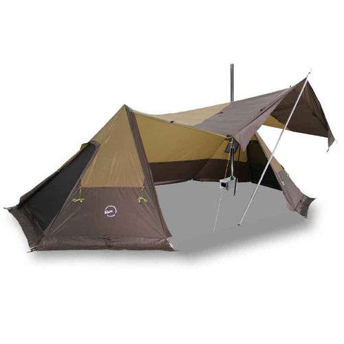 Twinpeak Shelter with Tent Wood Stove