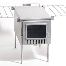 X3 Tent Wood Stove Stainless Steel for Camping