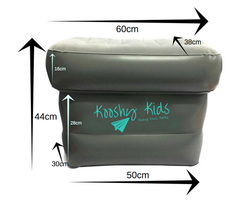 Kooshy Kids Dimensions