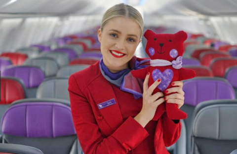 Virgin Australia kids