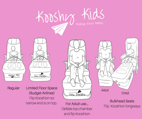 Kooshy Kids Kooshion Uses