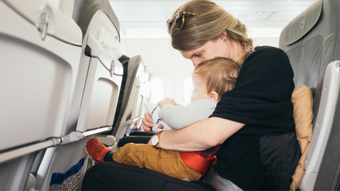 child plane safety