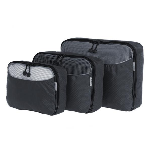 Packing Cubes - 3 Piece - Grey - Kooshy Kids