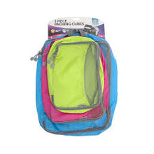 Packing Cubes - 3 Piece - Colourful - Kooshy Kids