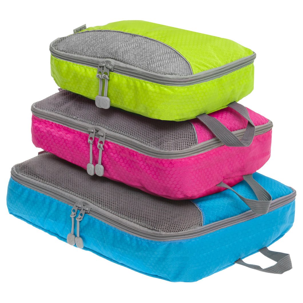 Packing Cubes - 3 Piece - Colourful