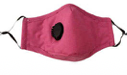 Reusable Face Mask - WITH VALVE - Adult (Unisex)