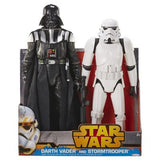 Star Wars New Hope Darth Vader and Stormtrooper 20 Inch Twin Pack Figures