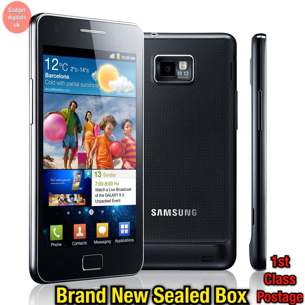 Brand new Samsung galaxy s2 GT-i9100 Unlocked Simfree Sealed box