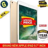 Brand New Apple iPad 9.7 inch 128GB 2017 Latest Gold - With 1 Year Apple Warranty