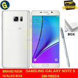 Brand new samsung galaxy note 5 SM-N920A Pearl White Unlocked Android Smartphone US STOCK