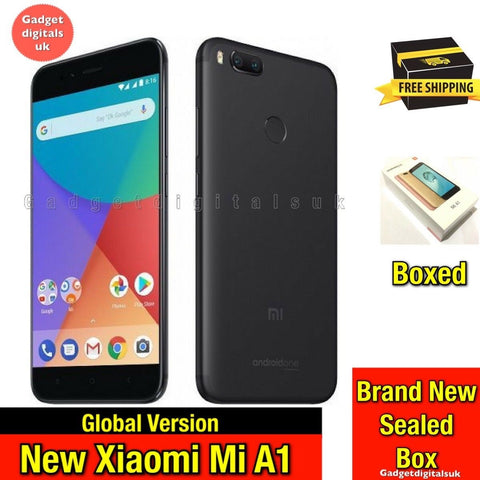 Brand New Xiaomi Mi A1 / 5x 64GB 4G LTE Unlocked Snapdragon Android Smartphone