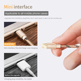 Bastec Original Micro USB Cable with Metal Shell Gold-plated Connector Braided Wire for Samsung-Sony-Xiaomi-Android Phone