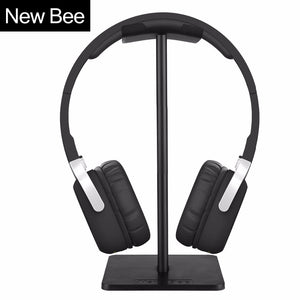 Metallic Headphone Stand Headset Holder Earphone Hanger bracket Black