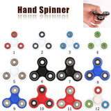 White/Black Finger Spinner Fidget Plastic EDC Hand Spinner For Autism and ADHD 15 Styles  Anxiety Stress Relief Focus Toys Gift