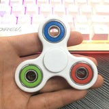 25 Colors Tri-Spinner Fidget Toy Plastic EDC Hand Spinner For Relieve Stress ADD & ADHD Focus Toys Kids Birthday Gift