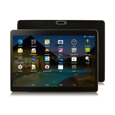 10 Inch 3G Android Tablets PC Tab Quad Core 2GB RAM 32GB ROM Dual SIM Card WIFI Bluetooth GPS