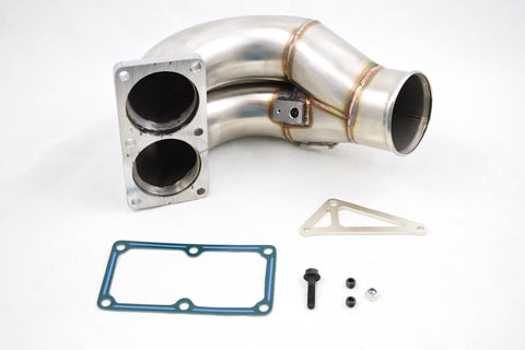 "BWD 3.5"" Stainless Steel Intake Elbow Manifold Horn 2007.5-2018 Cummins 6.7L"