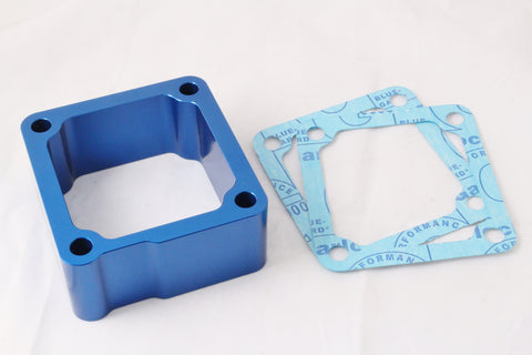 1998.5-2007 Dodge Cummins 5.9L 24V Intake Grid Heater Delete Spacer Blue