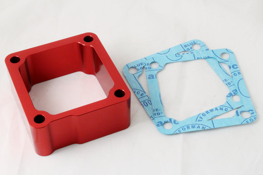 1998.5-2007 Dodge Cummins 5.9L 24V Intake Grid Heater Delete Spacer Red