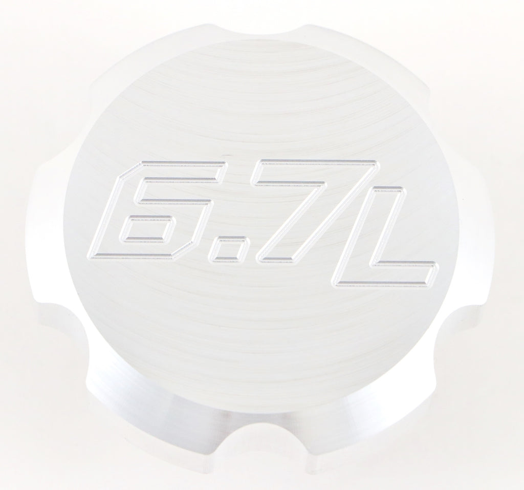 BWD Billet Aluminum Engine Oil Cap for Ford Powerstroke Diesel 6.7L 2011-2021