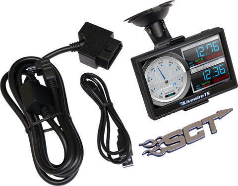 SCT Livewire 5015P TS+ Tuner Programmer for Ford Powerstroke 7.3/6.0/6.4/6.7