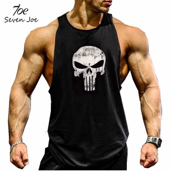 Seven Joe.New Brand clothing Bodybuilding Fitness Men gyms Tank Top Golds Vest Stringer sportswear Undershirt