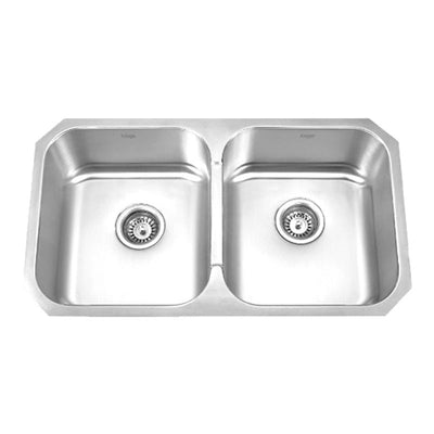 KRUGER® PICO - E Double Bowl Kitchen Sink
