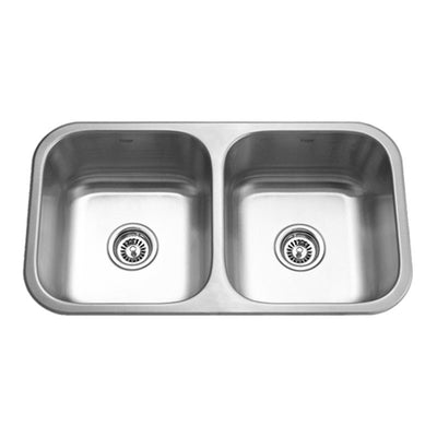 KRUGER® PICO - EA Double Equal Bowl Kitchen Sink