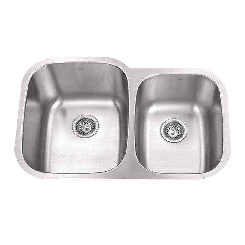 PICO-LF Double Offset Bowl Kitchen Sink