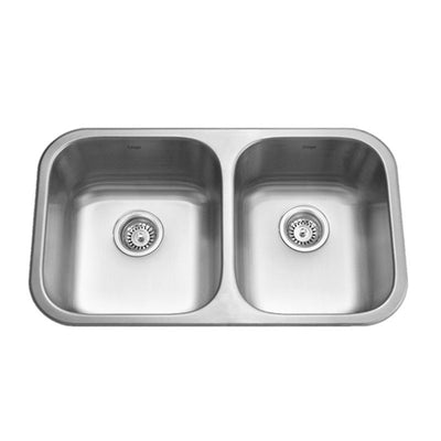 KRUGER® PICO-ML Double Offset Bowl Kitchen Sink