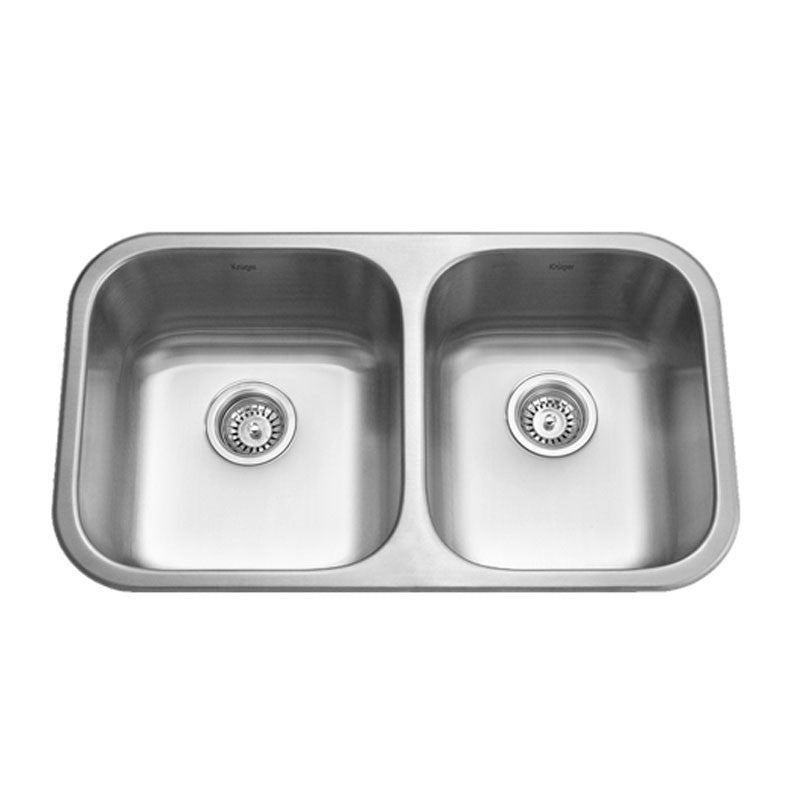 Kruger canada pico ml stainless steel kitchen sink with offset pico ml double offset bowl kitchen sink workwithnaturefo