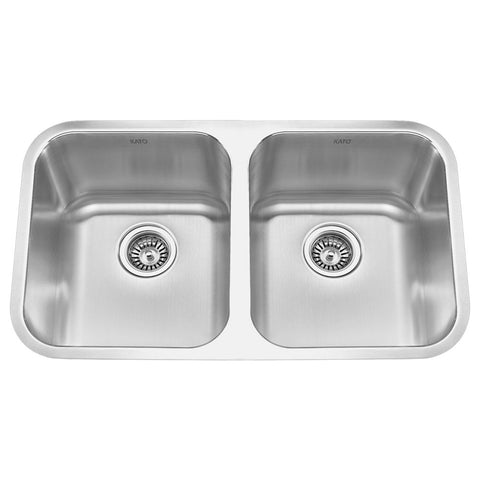 KATO® - KOMO 31 Double Bowl Kitchen Sink