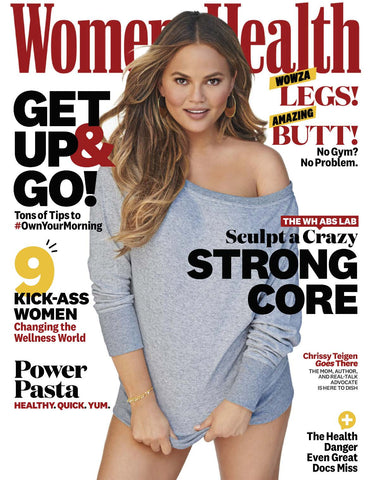Women's Health October 2018 Issue Chrissy Teigen