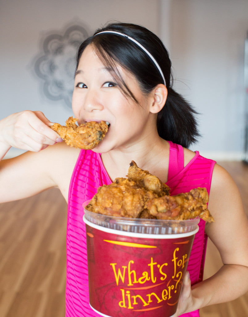 FRIED CHICKEN + A WORKOUT? YOU BET!