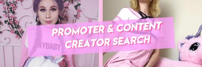 Promoter & Content Creator Search