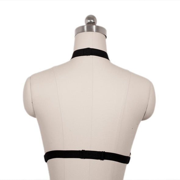 Cage Black Harness DDLGWorld harness
