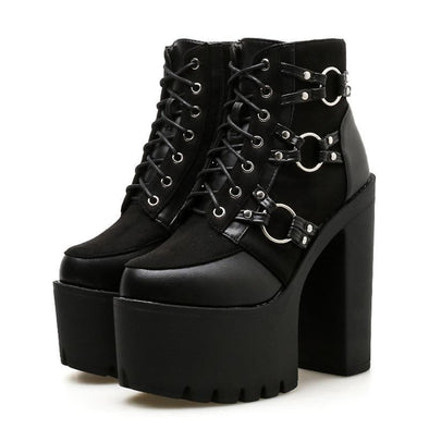 High Heel Motor Ring Boots DDLGWorld boots