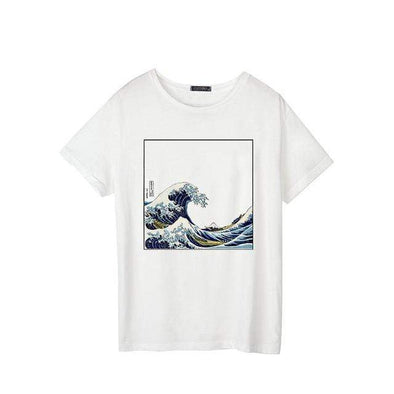 Kanagawa Great Wave T-Shirt DDLGWorld t-shirt