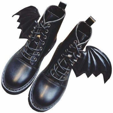 Kawaii Bat Wing Boots DDLGWorld shoes